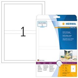 25 HERMA DVD-Einleger 5037 weiß