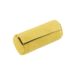Kerbl Dummy Trainings Futter Snack Hund, Polyester gelb 7 cm x 16 cm x 7 cm