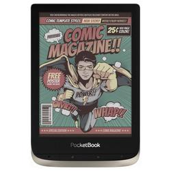 PocketBook PocketBook Color E-Book Reader moon silver (6 Zoll) Color-Touchscreen Bluetooth Tablet (6