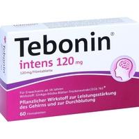 Dr Willmar Schwabe GmbH & Co KG Tebonin intens 120 mg Filmtabletten 60 St.
