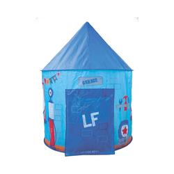 Knorrtoys® Spiel, lief! - Zelt rund für Mädchen blau