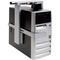 Dataflex PC Halterung Untertisch Top Grip 302 32.302 Silber Belastbar bis=20kg