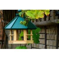 dobar green label Vogelhaus Klassisch 6-eck, BxTxH: 29x32x36 cm, Kiefer grün