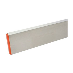 Setz- / Richtlatte 500 cm, Aluprofil 100 x 18 mm