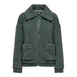 ONLY Sherpa Jacke Damen Grün Female XL