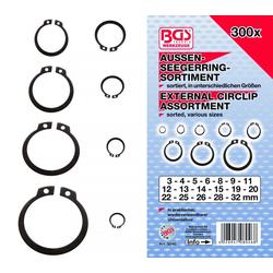 BGS 8046 Sortiment  Seegerring / Sprengringe / Aussenseegeringe 300 teilig