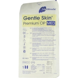 HANDSCHUHE OP Latex Gr.8,5 steril puderfrei 2 St