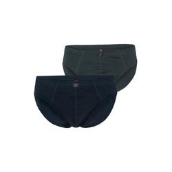 s.Oliver Men Big Sizes Lange Unterhose Slip (1 Stück) gelb 4XL