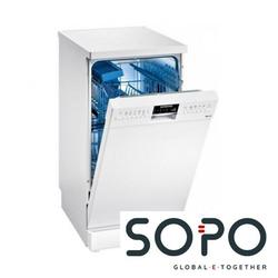 Siemens iQ500 SR256W00PE Freistehender Geschirrspüler, 9 Stellen, A++, Spülmaschine, 45 cm, weiß