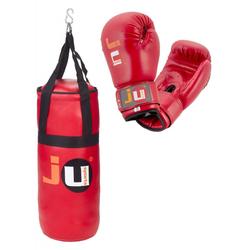 Kids Boxing Set rot (Farbe: Rot)