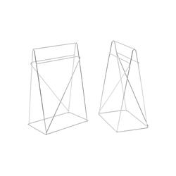KARE Esstisch Tischbock Polar Paar 31x49cm
