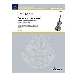 Aus der Heimat. Bedrich Smetana  - Buch