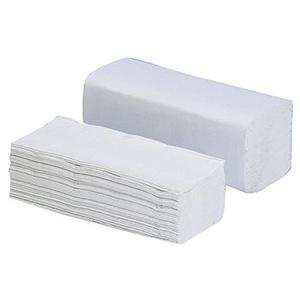 5000 Falthandtücher - Papierhandtücher - 25x23 cm - 1-lagig - natur - V-Falz