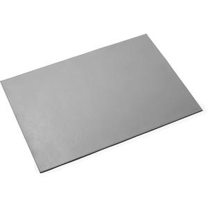 Durable 730510 Schreibunterlage aus hochwertigem (soften Leder, 650 x 450 mm, rutschfest) grau