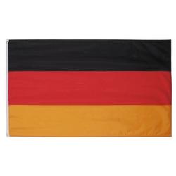 MFH Fahne MFH Fahne 90 x 150 cm mit Verstärkungsband - Deutschlandfahne - schwarz/rot/gold