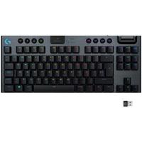 Logitech G915 TKL Lightspeed Wireless Keyboard US schwarz 920-009537