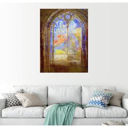Posterlounge Wandbild, Kirchenfenster 60 cm x 80 cm