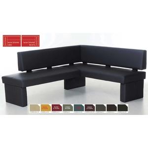 Standard Furniture Domino Eckbank Kunstleder viele Farben u. Größen