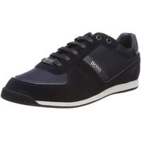 HUGO BOSS BOSS Herren Maze_Lowp_MX Sneaker, Blau (Dark Blue 401), 43 EU
