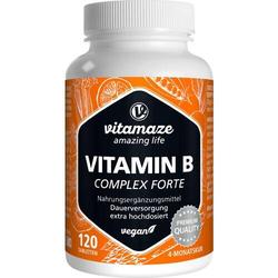 VITAMIN B COMPLEX extra hochdosiert vegan Tabl. 120 St.