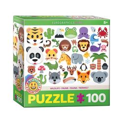 EUROGRAPHICS Puzzle Eurographics 6100-5395 Tierwelt 100 Teile Puzzle, Puzzleteile bunt