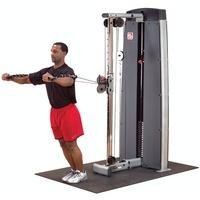 Body-Solid Pro Dual Kabelzugstation  inkl. Gewichtsblock 95 kg