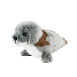 Teddys Rothenburg Kuscheltier Seehund grau-braun 24 cm (Robben Seehunde Plüschtiere Stofftiere)