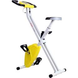 HOMCOM Fitnessfahrrad mit LCD-Monitor 83 x 43 x 110 cm (LxBxH)   Heimtrainer Rollentrainer Pedaltrainer Trainingsgerät