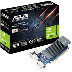 Asus Grafikkarte Nvidia GeForce GT710 1GB GDDR5-RAM PCIe x16 HDMI®, DVI, VGA