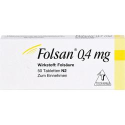 FOLSAN 0,4 mg Tabletten 50 St.