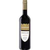Turmfalke Dornfelder QbA Rotwein trocken Qualitätswein 750ml