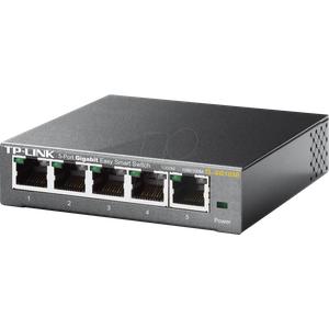 TPLINK TLSG105E - Switch, 5-Port, Gigabit Ethernet