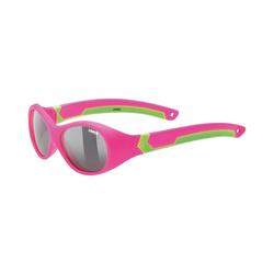 Uvex Sonnenbrille Sonnenbrille sportstyle 510 pink gre.m./smoke grün