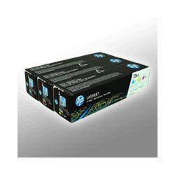 3 HP Toner CF341A  126A  3-farbig