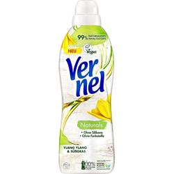Vernel Naturals Weichspüler Ylang Ylang & Süßgras 32 Waschladungen Waschmittel