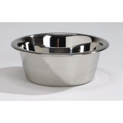 Roestvrijstalen Voerbak/Drinkbak voor de hond  28 cm