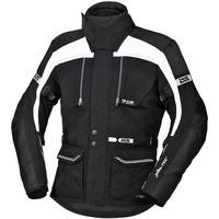 IXS Tour Traveller-ST Motorrad Textiljacke, schwarz-weiss, Größe 2XL