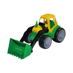 GOWI Spielzeug-Auto Traktor mit Schaufel baby-sized