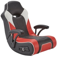 X Rocker G-Force Sport 2.1 Floor Rocker Gaming Chair schwarz / rot
