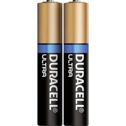 Duracell MN2500 Ultra Mini (AAAA)-Batterie Mini (AAAA) Alkali-Mangan 1.5V 600 mAh 2St.