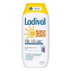 LADIVAL Kinder Sonnengel allergische Haut LSF 50+ 200 ml