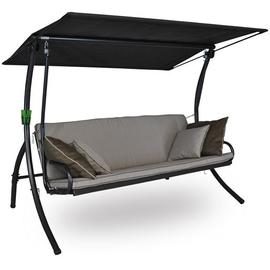 Angerer Elegance Style Design anthrazit/beige 3-Sitzer