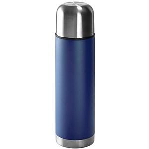 Edelstahl Isolierkanne / Thermosflasche / Thermoskanne / 0,5l / Farbe: blau