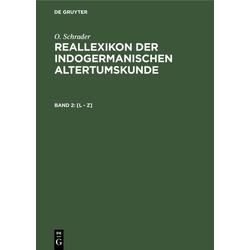 [L - Z] als Buch von O. Schrader