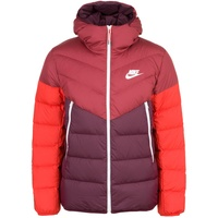 Nike Down-Fill Windrunner night maroon/cedar/habanero red/sail XL