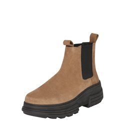 ABOUT YOU Damen Stiefelette 'Theresa' taupe, Größe 40, 4885986