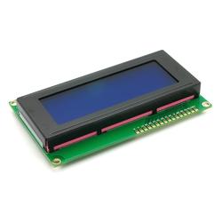 Alphanumerisches LCD 20x4, blau / weiß