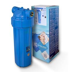 25,4cm/10Zoll Wasserfilter Gehäuse EKOblue 1/2Z + Sedimentpatrone 5mic