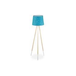 relaxdays Stehlampe Stehlampe Kinderzimmer blau