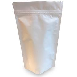Standbodenbeutel PET weiß matt, 110 x 185 x 65mm, 250ml, 1000 Stk.